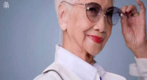 This 96-year-old woman is Asia's oldest fashion model